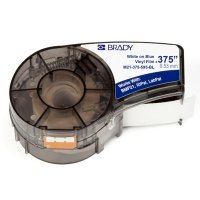 Brady M21-375-595-BL BMP21 Plus Label Cartridge - White on Blue