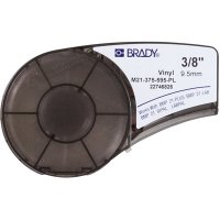 Brady M21-375-595-PL BMP21 Plus Label Cartridge - White on Purple