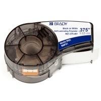 Brady M21-375-461 BMP21 Plus Label Cartridge - Black on White