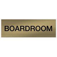 Boardroom - Engraved Standard Worded Signs