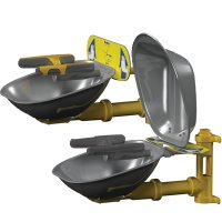 Bradley Halo® Wall-Mount Stainless Steel Eye/Face Wash