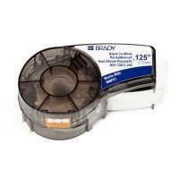 Brady M21-125-C-342 BMP21 PLUS Label Cartridge - Black on White