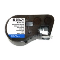 Brady MC-187-342 BMP53/BMP51 Label Cartridge - White