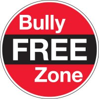Bully Free Zone Circular Signs