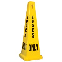 Buses Only - Safety Cones
