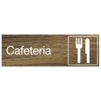 Cafeteria - Engraved Graphic Room Signs