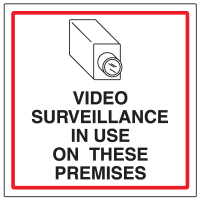 CCTV Warning Signs - Video Surveillance