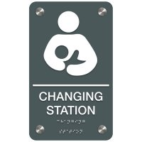 Changing Station - Premium ADA Restroom Signs