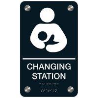 Changing Station - Premium ADA Restroom Signs