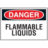 Chemical Labels - Flammable Liquids