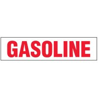 Chemical Labels - Gasoline