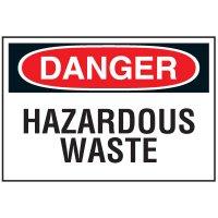 Chemical Labels - Hazardous Waste