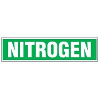 Chemical Labels - Nitrogen