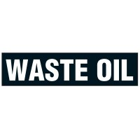 Chemical Labels - Waste Oil