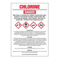 Chlorine - GHS Chemical Labels