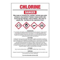 Chlorine - GHS Chemical Labels
