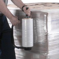 Clear Pallet Stretch Film Wrap & Dispenser
