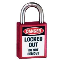 American Lock® Message Padlocks - Keyed-Alike