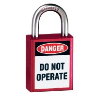 American Lock® Message Padlocks - Keyed-Alike