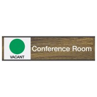 Conference Room-Vacant/Occupied - Engraved Sliders