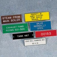 Custom Engraved Data Nameplates