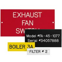 Custom Engraved Phenolic Plastic Nameplates