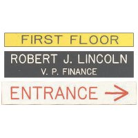 Custom Pre-Cut Engraved Signs