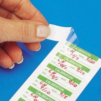 Custom Self-Laminating Write-On Labels