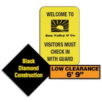 Custom Sized Traffic Signs