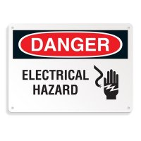 Danger Signs - Electrical Hazard