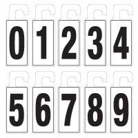Door Knob Hangers - Numbers