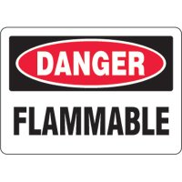 Eco-Friendly Signs - Danger Flammable