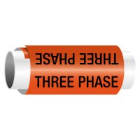 Three Phase - Snap-Around Electrical Markers