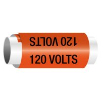 120 Volts - Snap-Around Electrical Markers