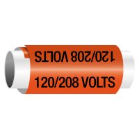 120/208 Volts - Snap-Around Electrical Markers