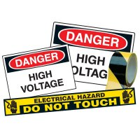 Electrical Safety Kits - Danger High Voltage