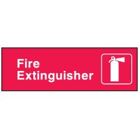 Emergency Corridor Signs - Fire Extinguisher