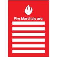 Fire Marshals Emergency Frame