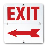 Exit Flip Signs