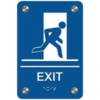 Exit - Premium ADA Facility Signs