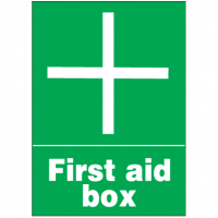 First Aid Signs - First Aid Box