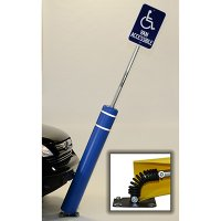 FlexPost Bollard W/ 8' Sign Post