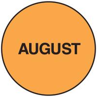 Fluorescent August Dot Labels
