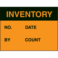 Inventory Fluorescent Paper Labels