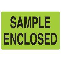 Fluorescent Warehouse & Pallet Labels - Sample Enclosed