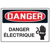 Enseignes de Sécurité - Danger Danger Electrique