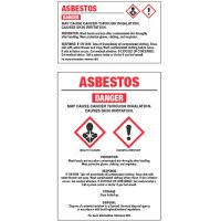 GHS Chemical Labels - Asbestos