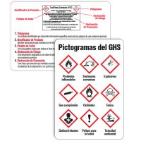 GHS Wallet Cards Label Guide - Spanish