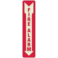 Fire Alarm Self-Adhesive Vinyl Fire Equipment Signs