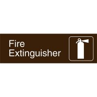 Graphic Architectural Signs - Fire Extinguisher